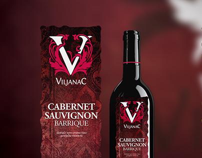 Viljanac Wine Label