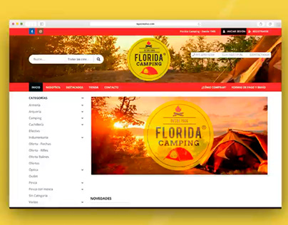 Florida Camping | Diseño Web