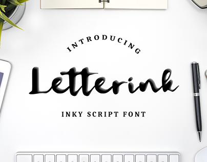 Letterink -inky font-