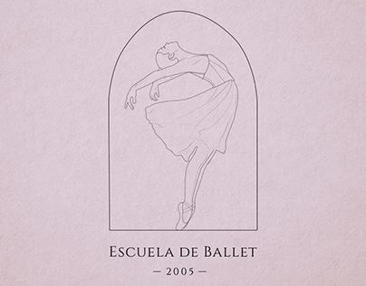 Logo for ballet school