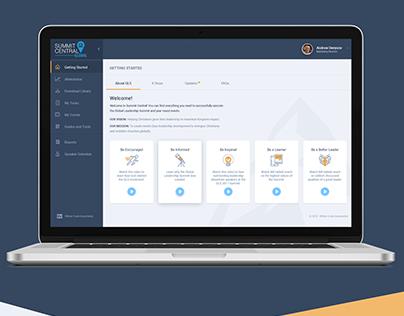 The Global Leadership Summit Web Platform.