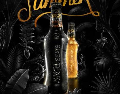 Skol - Summer Beats Festival Poster