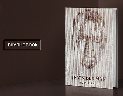 Invisible Man - Book Cover & Animated Web Page