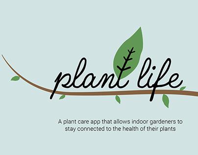 Plant Life: Indoor Plant Care App