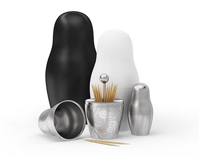 MatreshKit — four-item kitchenware set