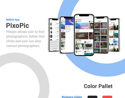Pixopic | Photographer Mobile App