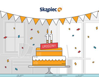 Skapiec.pl - infographics birthday
