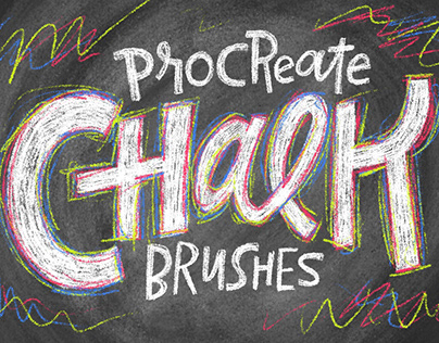 Chalk Brushes for Procreate