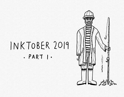 Inktober 2019 [Part I]   Ink Drawings