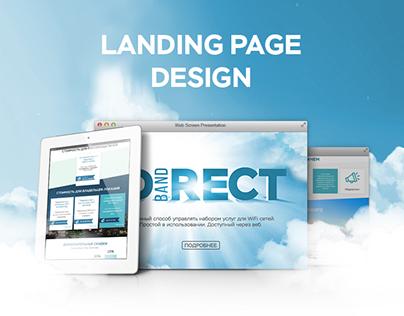Landing Page Wi-Fi Services