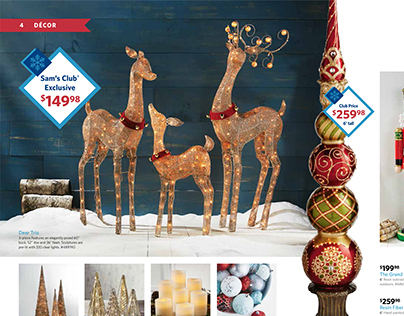 Sam's Club: Holiday Catalog 2014