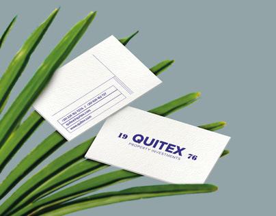 Quitex - Branding & Website