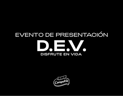 Evento de Presentación DEV - Campofrío