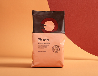 Minimalistic stories of countries in coffee packaging