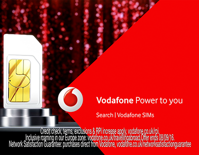 Grey - UK • Vodafone CGI commercial