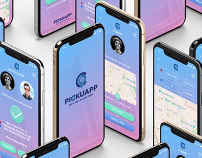 PickUApp   A Smart Carpooling App Concept
