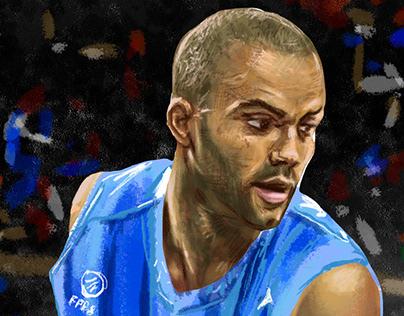 Tony Parker - FIBA - 2010