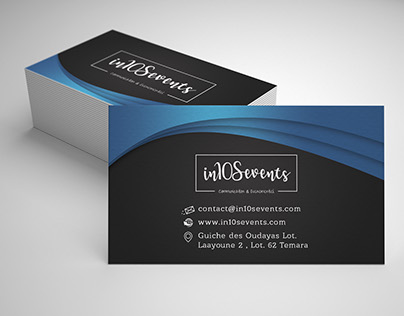 In10sevents business card