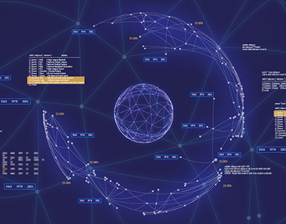 Intraway - Art direction for motion graphics