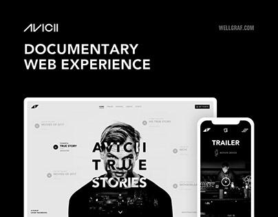 AVICII - Documentary Web Experience