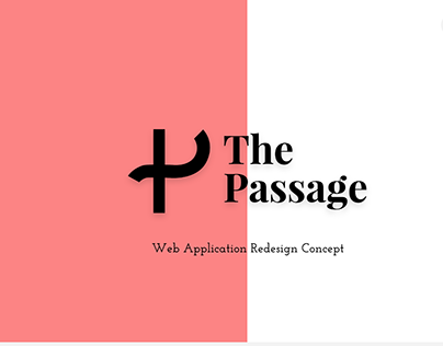 The Passage Web App Redesign Concept