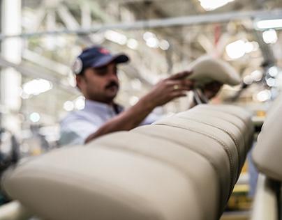 Factory Floor   TOYOTA BOSHOKU - Bangalore IN