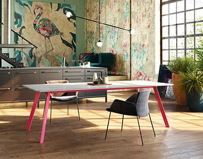 LORIKEET (concrete table)