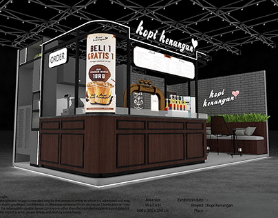Exhibition Design - Kopi Kenangan