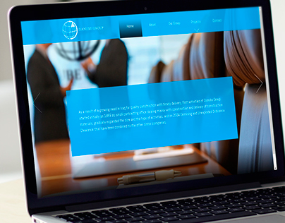 Website design for Danube Group in Iraq