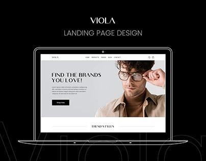 VIOLA Landing Page