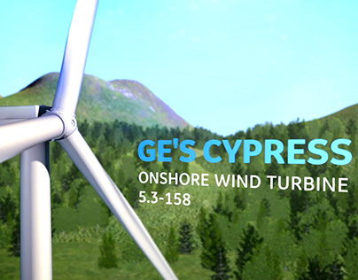 GE Cypress On-Shore Wind Turbine