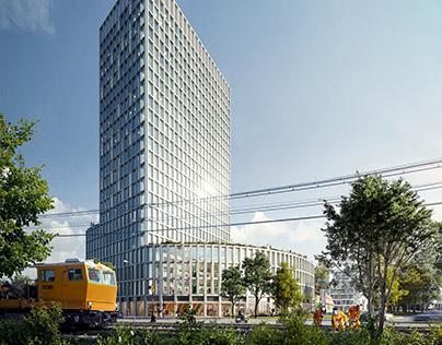 Office building in Karlsrhue |Burckhardt Partner
