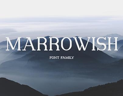 Marrowish Font Family