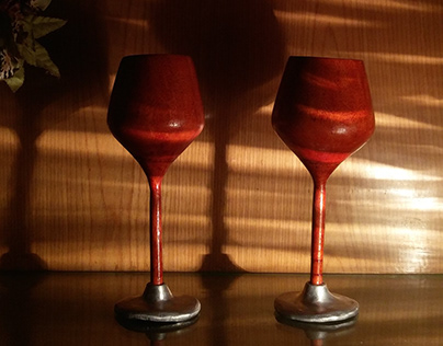 Wine Glasses | Wood Turning