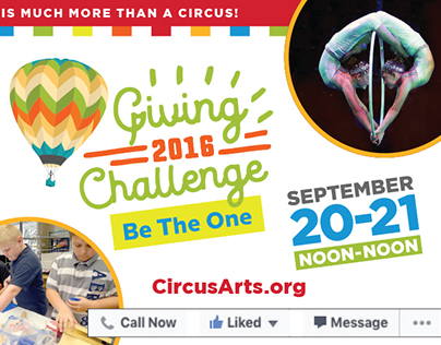 Circus Arts Conservatory Giving Challenge