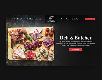 Select Cuts Deli & Butcher Branding Design