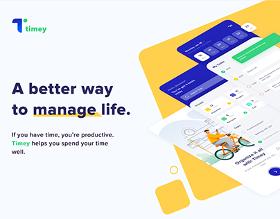 Task management app and landing page