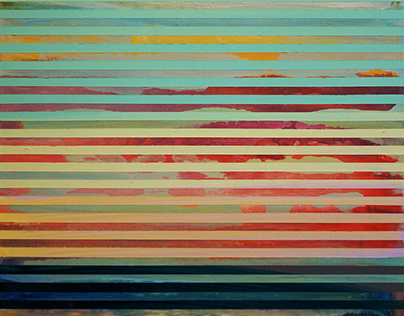 'Weaving Landscape'  Paintings