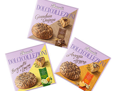 Bauli: launch Dolci Collezioni. Naming, Branding, Pack.