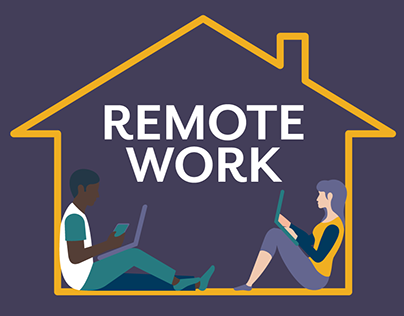Remote Work Infographics