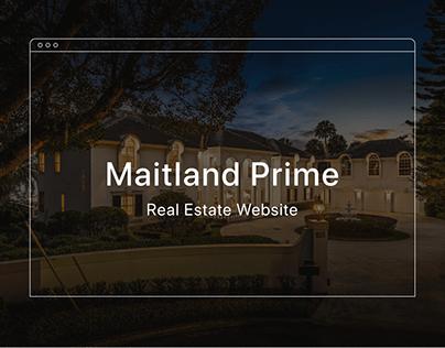Maitland Prime Real Estate – Website