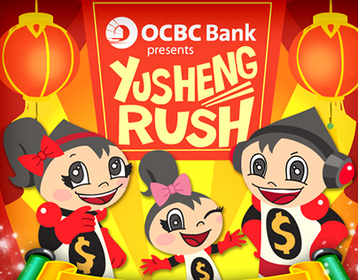 OCBC Mighty Savers Chinese New Year Adventure 2013 eDM