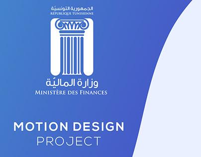 Motion Design -Ministère des Finances-