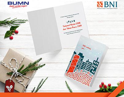 BNI Christmas Card 2018 - Greetings Card