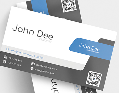 Modern Business Card Template Free + Download