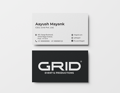 Grid events and production.