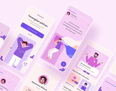 Relax App Design Exploration