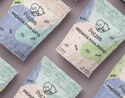 Petzels Pet Treats Branding