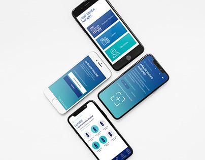 Becheckin - App design