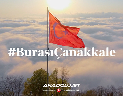 AnadoluJet - #BurasıÇanakkale